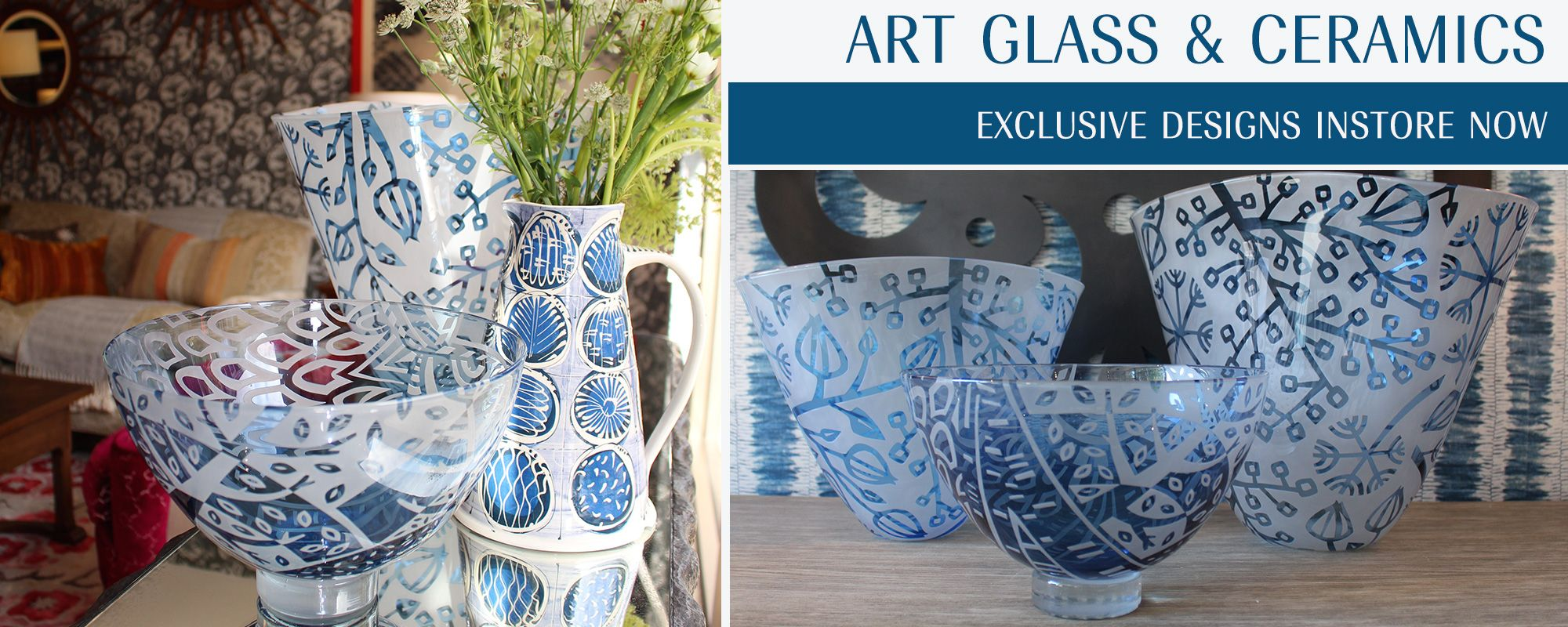 Art Glass & Ceramics