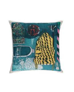 Laura's Chair - Cushion by Rose Electra Harris
