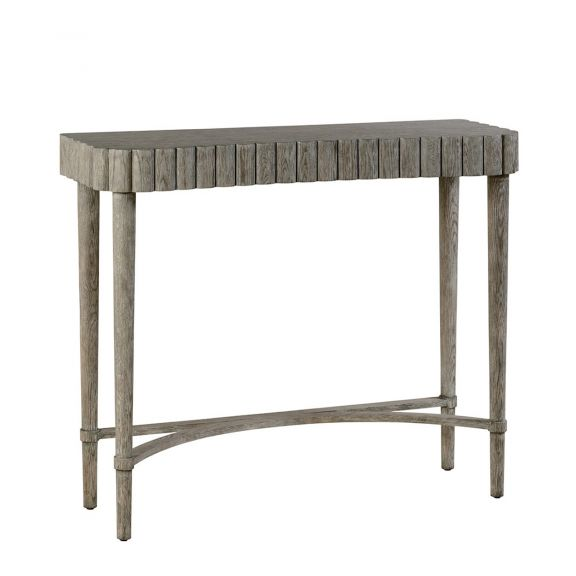 Allerdale Console Table - Greyed Oak