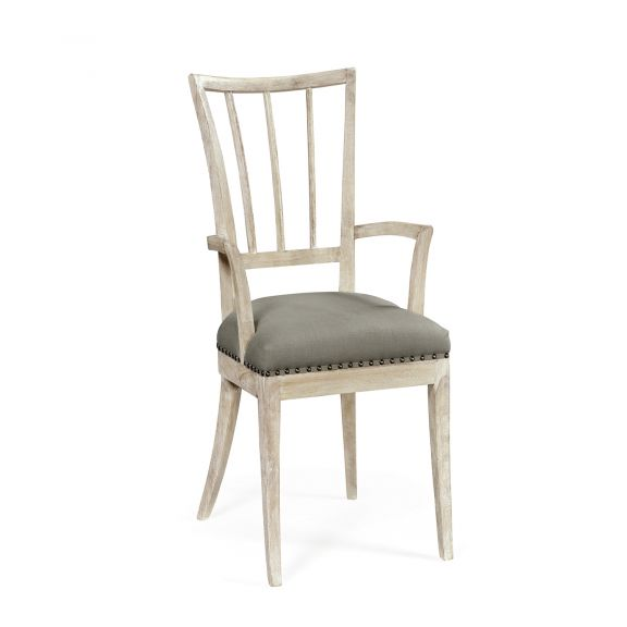 Lucillo Carver Chair - Washed Acacia