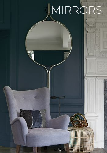 A great mirror is an essential addition to any room! Mirrors add dimension and light but more importantly when well designed they are of course work of art.
