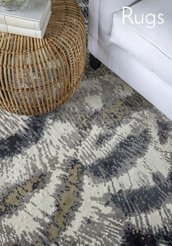 Charming and space defining the rug has become an essential decorating ingredient at William Yeoward.