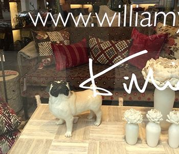 The William Yeoward London Store is situated on the Kings Road in the heart of Chelsea, London.