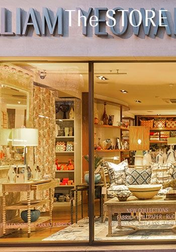 The William Yeoward London Store is situated on the Kings Road in the heart of Chelsea and has become a 'must visit' global destination for designers, decorators and all those who appreciate excellent design, style and sophistication.