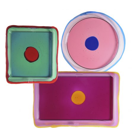 New in - Colourful Trays