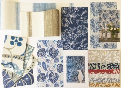 Moodboard - William Yeoward Wallpaper