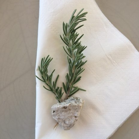 Add a sprig of rosemary...