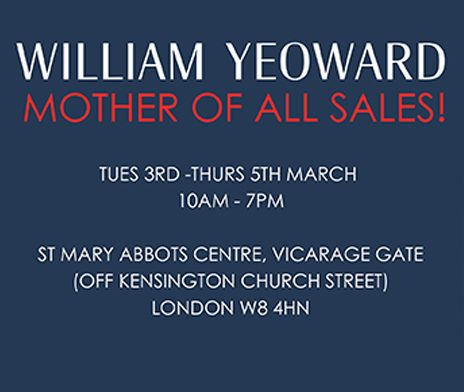 It's Sale time, save the date!